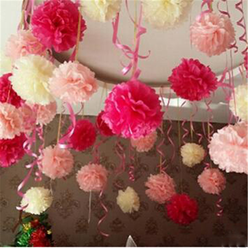 10pcs 1640cm tissue paper pom poms paper flowers ball diy 10pcs 1640cm tissue paper pom poms paper flowers ball diy artificial flowers for wedding car decoration home decor in party diy decorations from home mightylinksfo