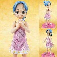 Anime um pedaço bonito de Miss quarta infantil 10 CM MH POP Nefeltari Vivi PVC Action Figure coleção Toy modelo