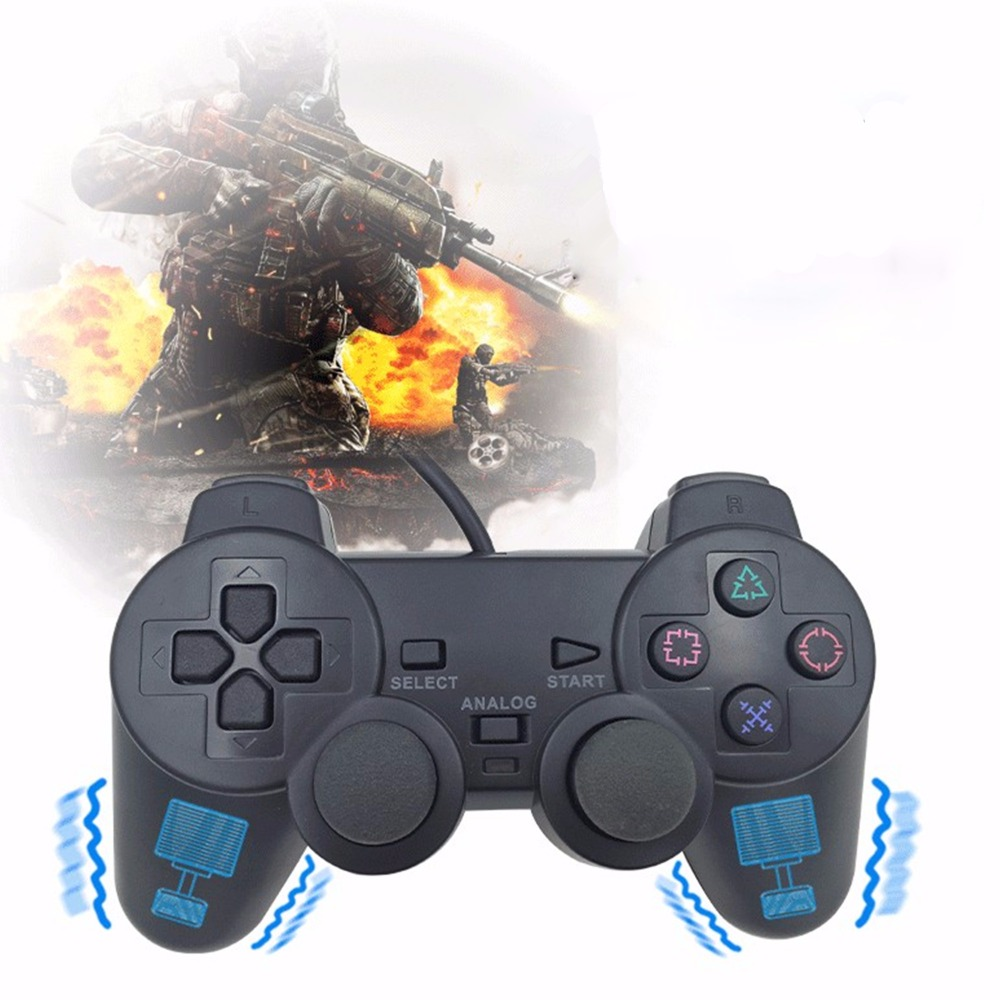 Wired Game Pad Controller per PS2 Sony Playstation 2 console gamepad joystick cavo lungo Dualshock joypad Per PS 2 Gioco stazione