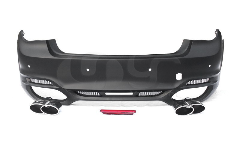 2010-2015 BMW 7 Series F01 F02 Wald Sports Line Black Bison Edition Style Rear Bumper FRP (4)