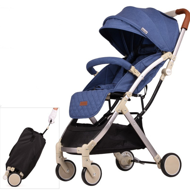 Babyruler Lightweight Portable Baby Stroller 3 in 1 Mini Size Can Sit Or Lie Kinderwagen Pram Pushchairs Bebek Arabasi Poussette luxury portable lightweight baby stroller 3 in 1 umbrella fold baby carriage pram pushchairs for newborn kinderwagen carrinho