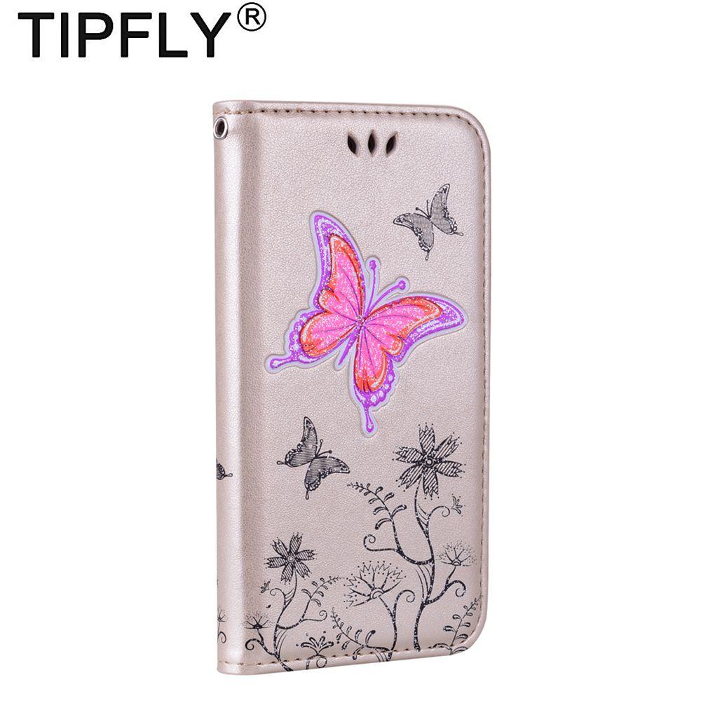 Tipfly для Coque Samsung Galaxy S6 <font><b>S7</b></font> <font><b>Edge</b></font> чехол кожаный бумажник чехол для Samsung Galaxy S8 Plus чехол флип чехол для телефона