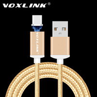 VOXLINK Magnetic USB Type C Cable 2.4A Fast Charging Magnetic Type-C USB-C Cable Adapter For Google Nexus 6P/5X/Pixel/Pixel XL