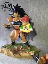 MODEL FANS Dragon Ball Z 25cm Raditz Son Gohan gk resin figure toy for Collection