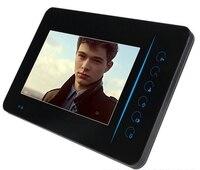 Wifi Doorbell Camera Wired Video Doorbell Intercom 7 Inch Tft Lcd Outdoor Laser Security Systems sip door video intercom