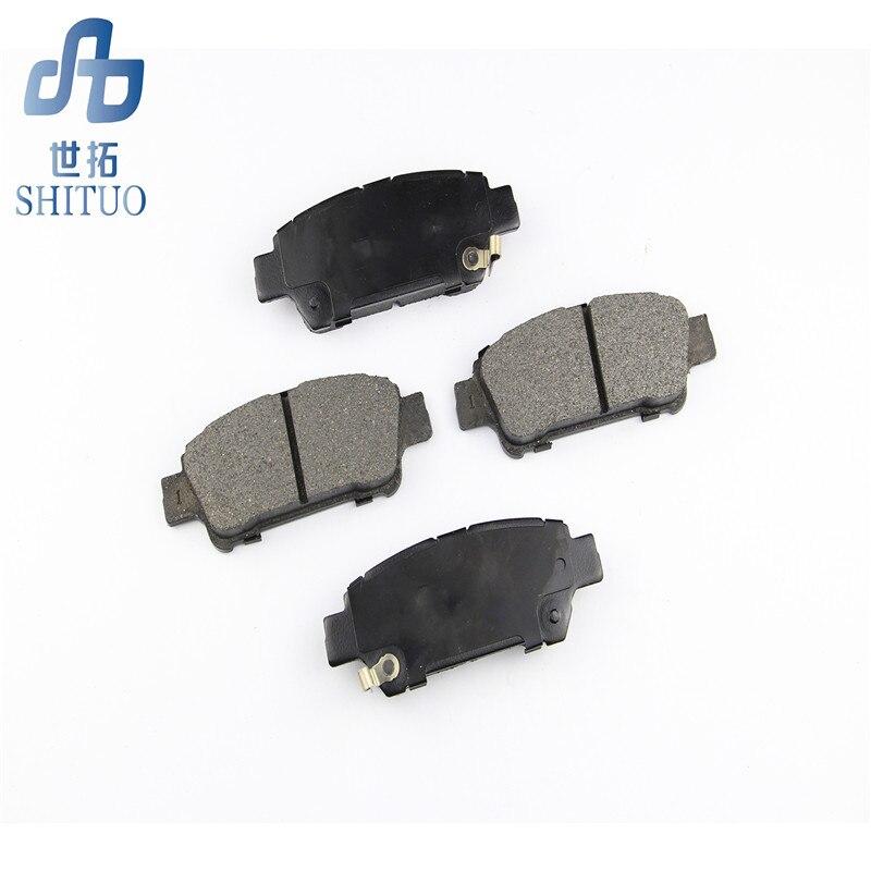 4 pièce/ensemble D684 bonnes plaquettes de frein avant pour pièces automobiles Volkswagen