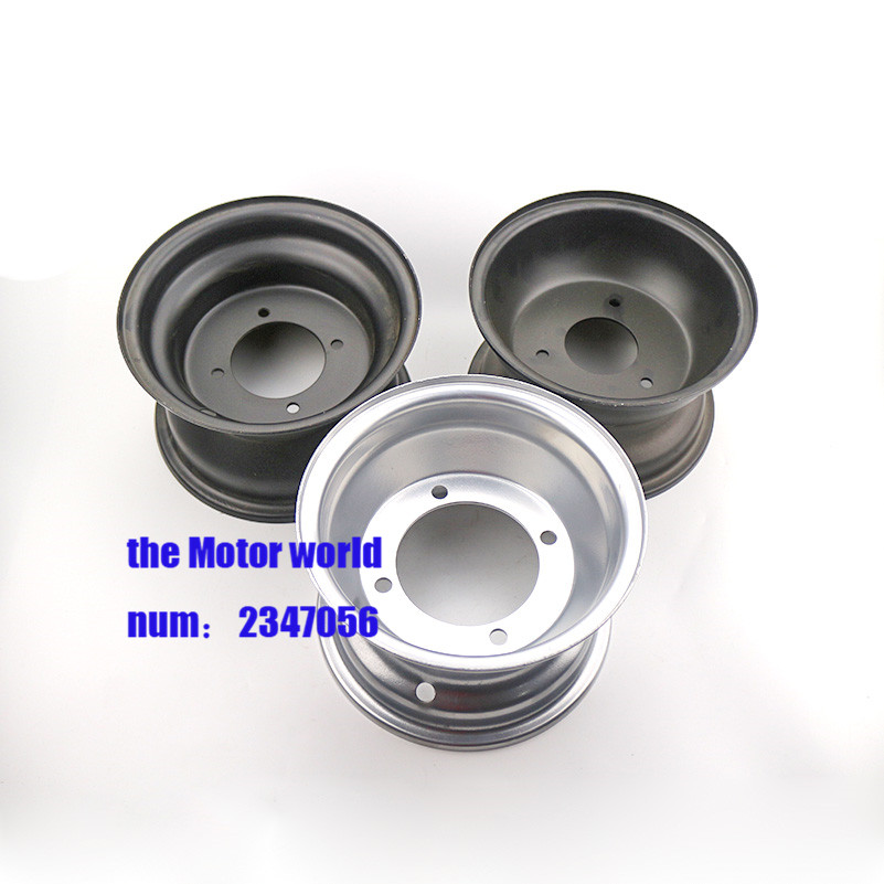 3 Arten 7 Zoll Reifen Rad Weiß Hub Rim 3 Löcher Vakuum Reifen 16x8-7 Zoll Atv Quad Rad Felgen Tropf-Trocken