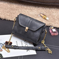 YBYT brand 2017 new vintage casual chain solid women flap hotsale ladies phone evening bags shoulder messenger crossbody bags