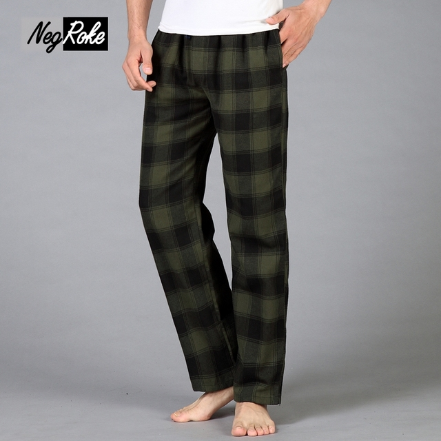 Espesa Más El Tamaño de Invierno 100% de algodón para hombre pijamas bottoms mantener venta caliente simple Primavera casa pantalones de pijama de los hombres Caliente 100 KG