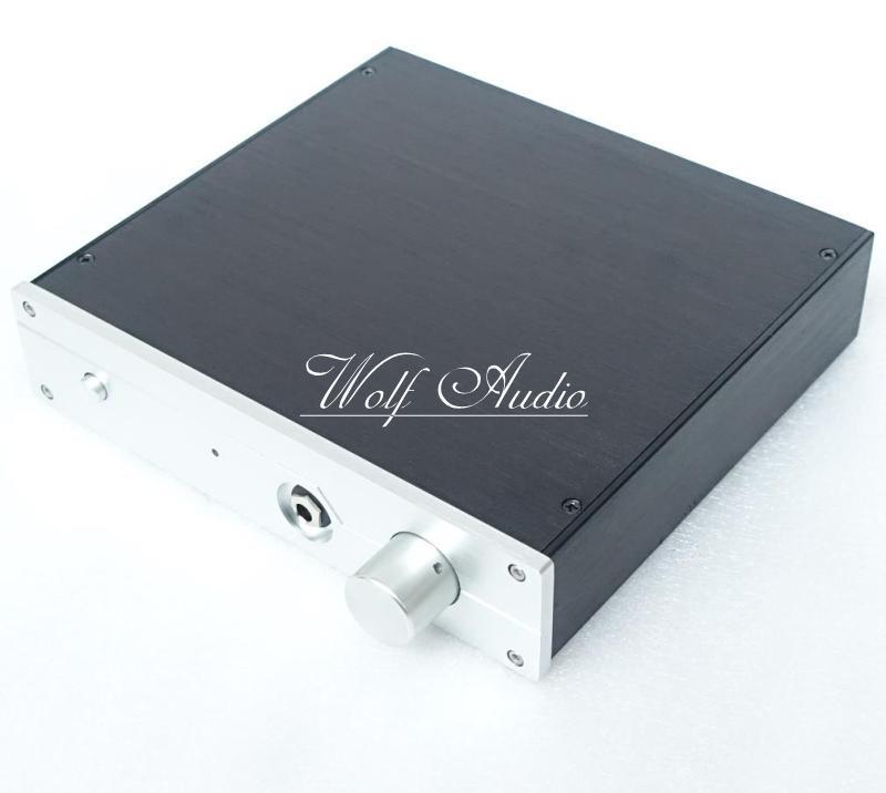 PH-I Audio Amplificateur Tous Les Châssis en aluminium Préamplificateur Enceinte Mini Case Box BRICOLAGE