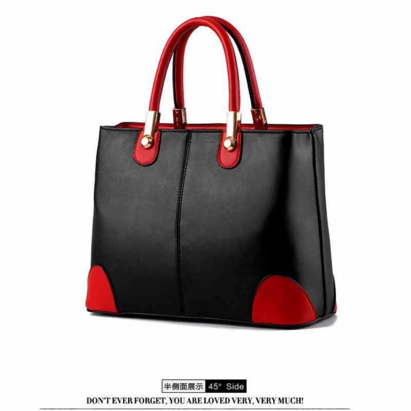 KLY 100% женские сумки из натуральной кожи 2018 новая женская сумка в черном и белом цвете женская модная сумка-мессенджер через плечо сумка