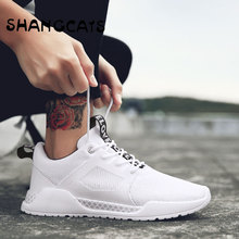 Designer Shoes Men's Shoes Casual Style Ultralight Autumn Winter Shoes For Young Men White Black Footwear Male Sapato Masculino