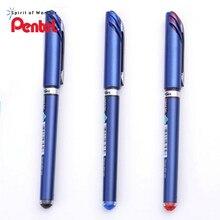 6 unids/caja Pentel EnerGel bolígrafo de tinta de Gel líquido secado rápido Punta de aguja 0,5mm