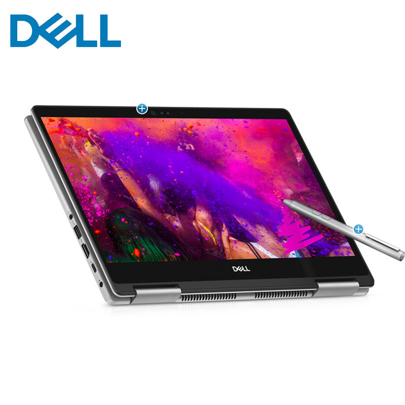 Dell Inspiron 2 In 1 133 Touch Screen Laptop AMD Ryzen 5 8GB Memory 256GB SSD Convertible Business UltraThin Full HD Notebook Laptops From Computer