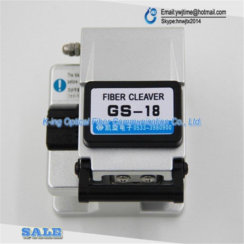 GS 18 High precision fiber cleaver Optical fiber cutting font b knife b font FTTH Hot
