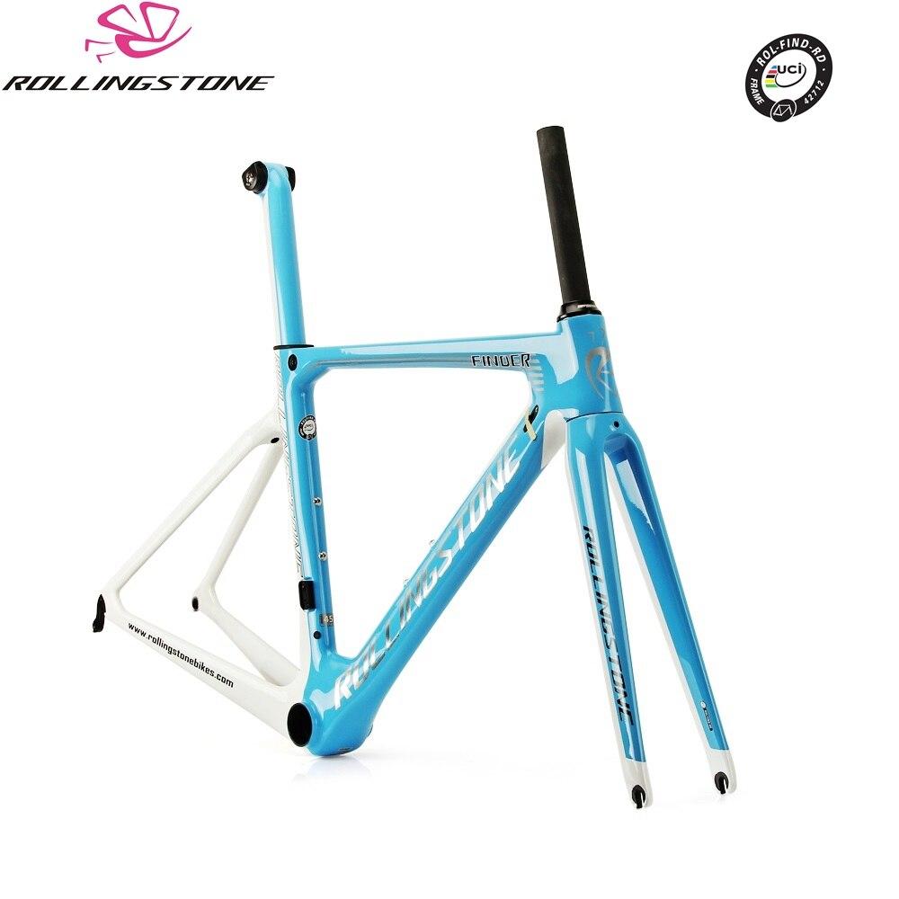 Rolling Stone UCI Bicycle Frame Carbon Road Bike Aero Frameset FINDER 2018 700C 45 47 50 52CM Racing Toray T800 Ultralight