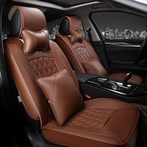 Image 4 - car Seat Covers Whole Surrounded auto cushion  Car headrest neck headrest Single Car pad