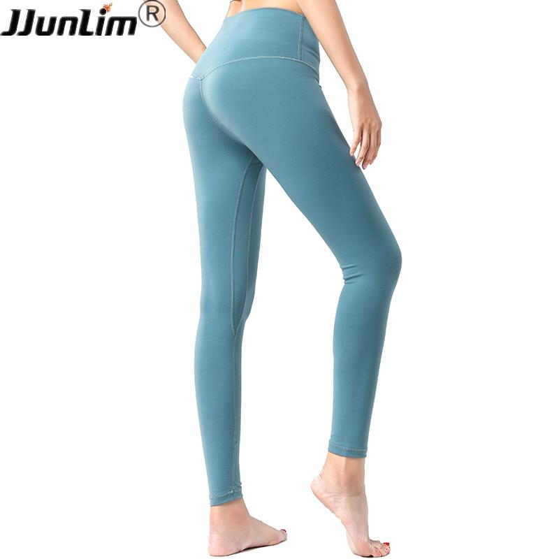 Womens Push Up Yoga Pants Leggings Denim Print Jeans Gym Sports Fitness Trousers