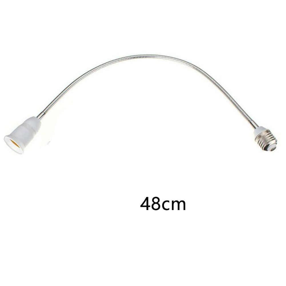 Screw Professional Light Adapter Lengthening Bulb Lamp Holders E27 Socket Led Flexible Conversion Extender Converter Hose