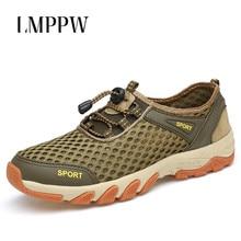 New Men Sandals 2019 Summer Outdoor Mesh Breathable Shoes Fashion Non-slip Beach Sandals Men Casual Sneakers Quality Design  2A стоимость