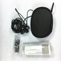 In Stock! High Quality SE215 Hi fi stereo Headset Noise Canceling 3.5MM In ear Earphones Separate Cable headset with Box