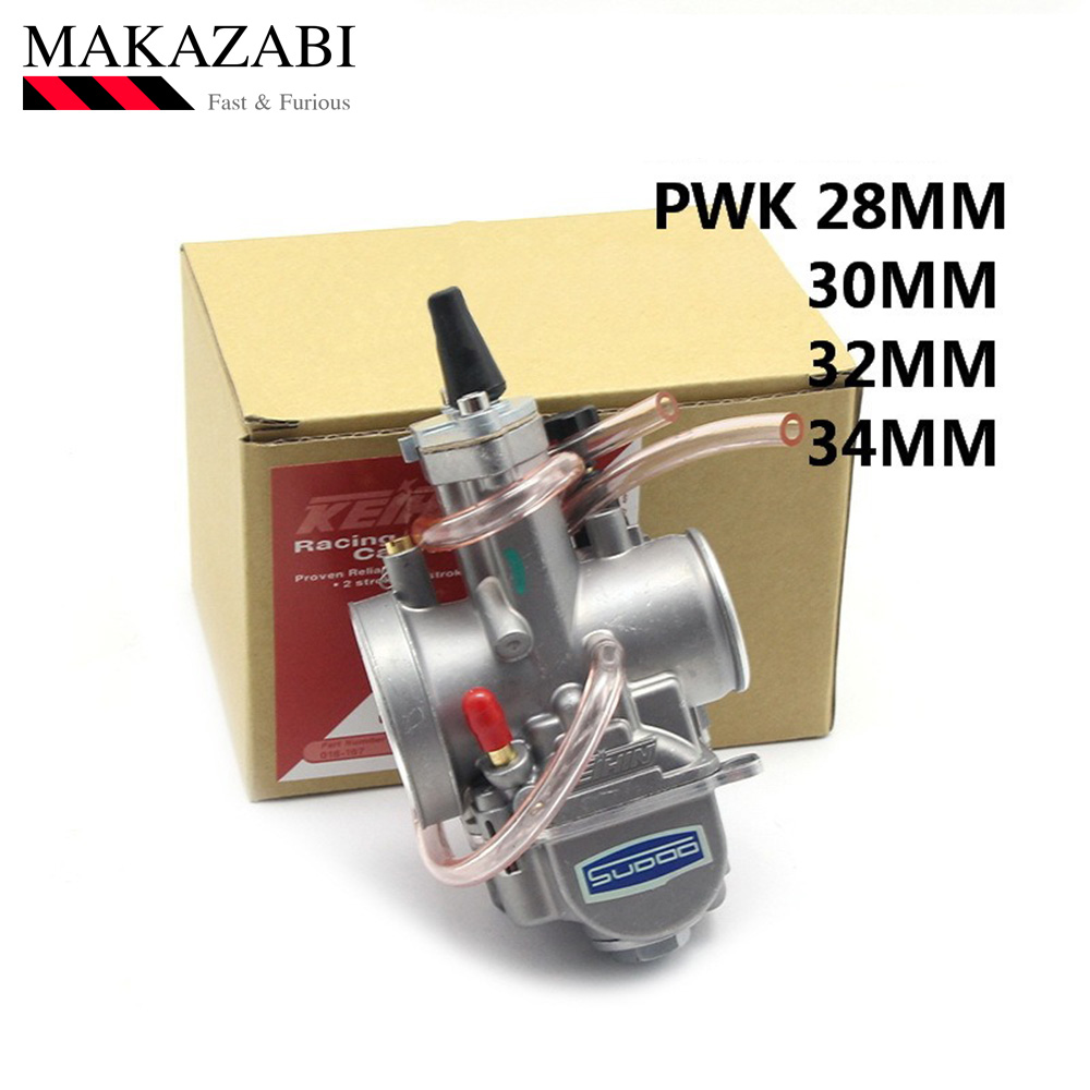 PWK28 pwk 28 30 32 34 mm Carburetor Motorcycle ATV Buggy Quad Go Kart Dirt Bike jet boat fit 2T 4T JOG DIO|Carburetor| |  - title=