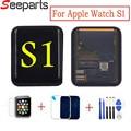 Сменный сенсорный ЖК-экран для Apple Watch  42 мм  38 мм  закаленное стекло