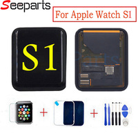For Apple Watch Series 1 LCD 42mm LCD Display Touch Screen Digitizer Replacement For Apple Watch Series 38mm LCD+Tempered Glass