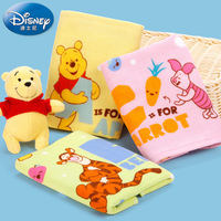 Disney Little Bear Vigny Knowledge Of Letter Gauze Baby Scarf Baby Pure Cotton