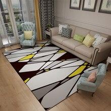 Large Vintage Carpets For Living Room Bedroom Kids Nordic Abstract Art Sofa Area Rugs Doormat Yoga Pad Antiskid Floor Mat