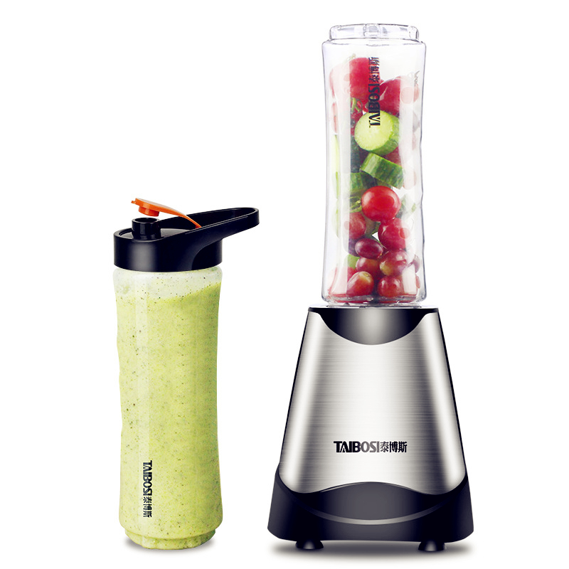 Portable juicer Mini multi-function juicer fruit and vegetable feeding mixer juicer Stick food processors electric Hand blender glantop 2l smoothie blender fruit juice mixer juicer high performance pro commercial glthsg2029