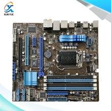 Для p8p67-m оригинальный используется для рабочего материнская плата для intel p67 гнездо LGA 1155 Для i3 i5 i7 DDR3 32 Г SATA3 USB3.0 uATX