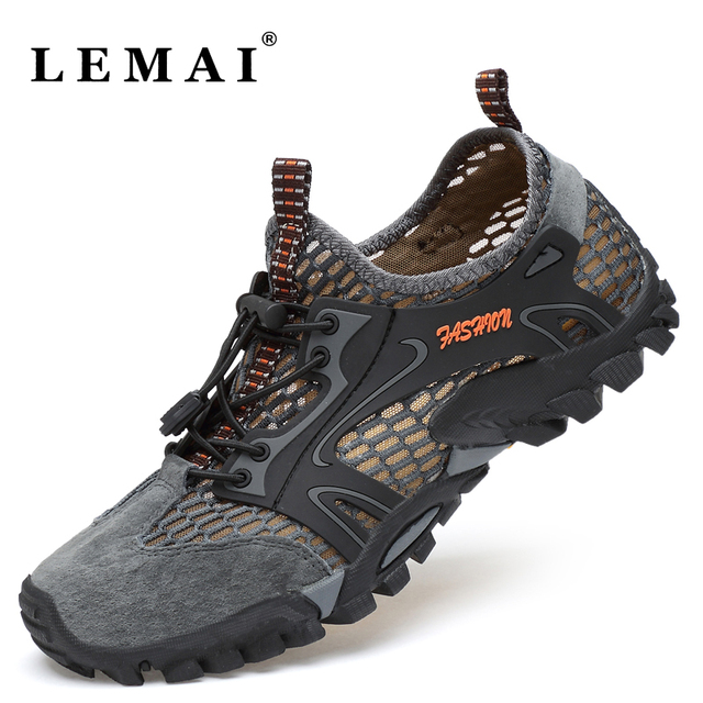 Unisex Men's Hiking Shoes Women Breathable Outdoor Hunting Anti-skid Tourism Trend Sneakers Climbing Shoes