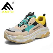 8760fff7bed9 2018 Hot Sale Paris Running Shoes Women Men Triple S Sneakers Luxury Brand  Sport Shoes Couple