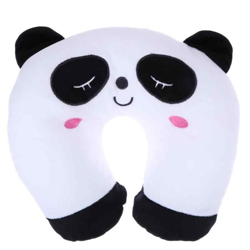 Multi-Color Cartoon U Shaped Home Office Travel Respite Cushion Neck Pillow Neck Support Head Rest Cushion Massage Foam Pillows