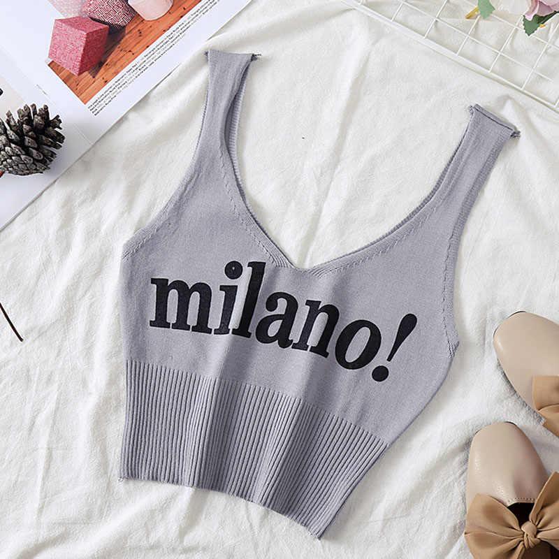 HELIAR Weibliche Mode Camisoles Brief milano Sexy 2019 Chic Crop Top Dame Weiß Crop Top Sommer Baumwolle Solide Tank Tops femme