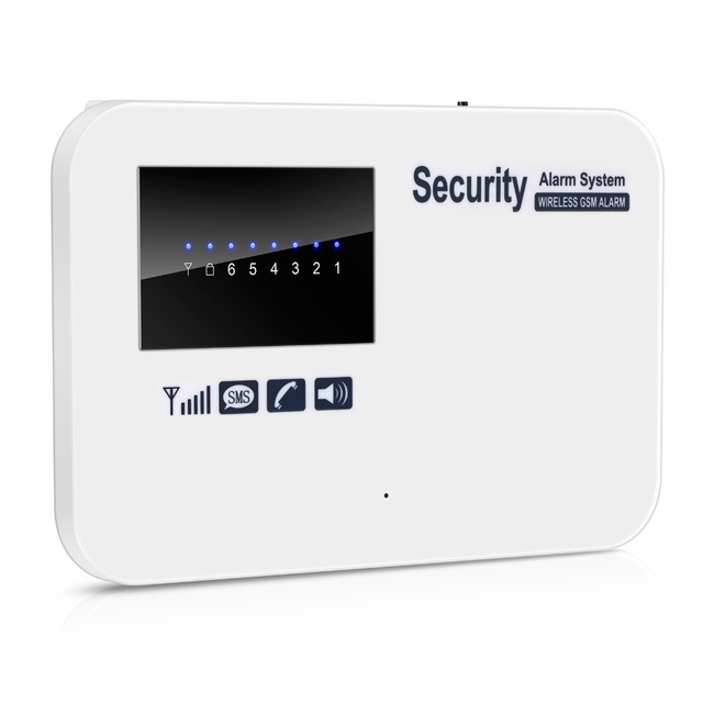 Wireless GSM Alarm System For Home Security Auto dial remote arm/disarm Home Intelligent Burglar GSM Voice