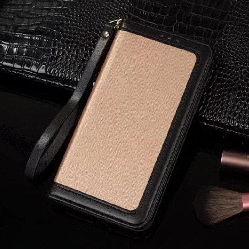 bilder für Luxury Leather Wallet Case für iPhone 6 6 S Plus iPhone 7 Plus Flip-magnetische Standplatz-abdeckung mit Kartenhalter Handytasche fällen