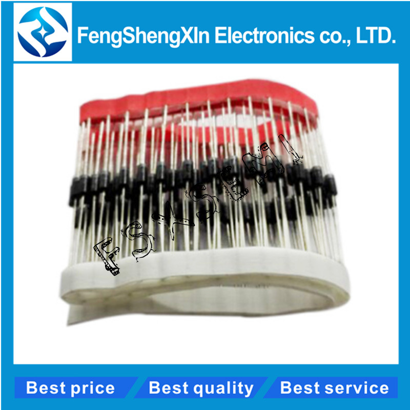 20pcs/lot Rectifier <font><b>Diode</b></font> HER108 HER208 HER307 HER308 <font><b>HER508</b></font> SF16 SF56 SF54 FR307 FR607 DO-27 image