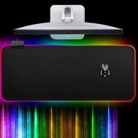 עבור מחשב VODOOL RGB USB Gaming Mouse Pad RGB הזוהר רחב ממדי משטח עכבר מקלדת צבעונית התאורה גיימינג Mat עבור מחשב נייד חדש שולחני (4)