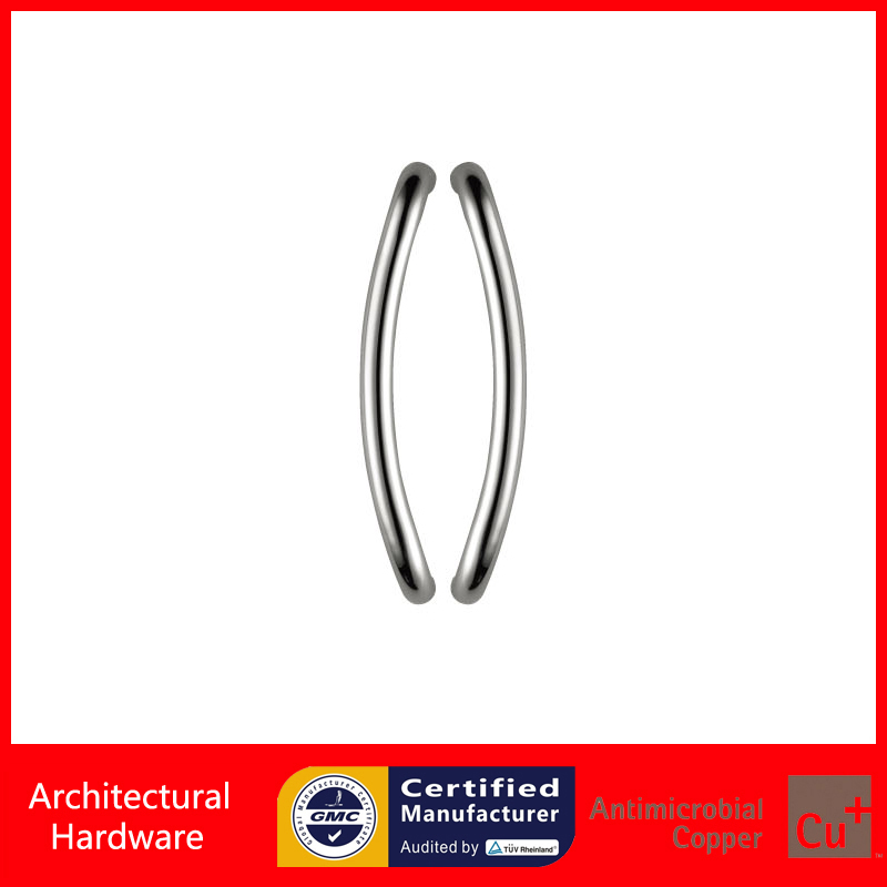 Entrance Door Handle, 304 Stainless Steel Pull Handles For Commercial Office Store Entry Front Doors PA-160-25*330mm modern entrance door handle 304 stainless steel pull handles pa 104 32 1000mm 1200mm for entry glass shop store big doors