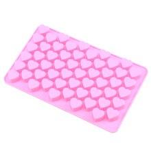 Whism 3D силиконовый 55 форма для шоколада «сердце» мыла льда желе торт с глазурью Конфеты Формы инструмент для украшения выпечки