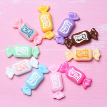 Happy Monkey 5pcs/10pcs/pack Slime Charms Supplies Toys Resin Cute Candy Kit Accessories Filler For Fluffy Clear Cloud Slime(China)