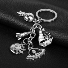 Dongsheng Aliens Predador AVP Alien Queen Pingente Chaveiro Keyfobs Keychain I Want To Believe Chaveiro para As Mulheres Homens Jewelry-50(China)