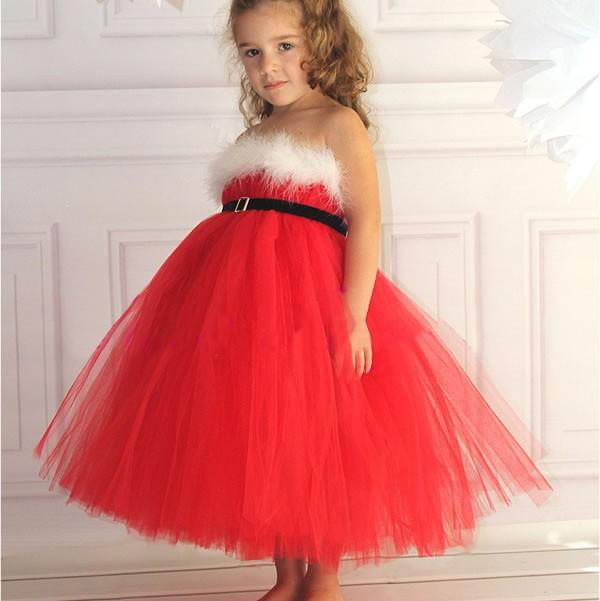 nuevo vestido de nia de navidad sin tirantes velo de la muchacha feliz navidad muchachas