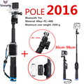 2016 New Extendable Waterproof Gopro Monopod Tripod tripe with Gopro Mount Adapter for GoPro Hero 4 3+ 3 2 Accessories GP164