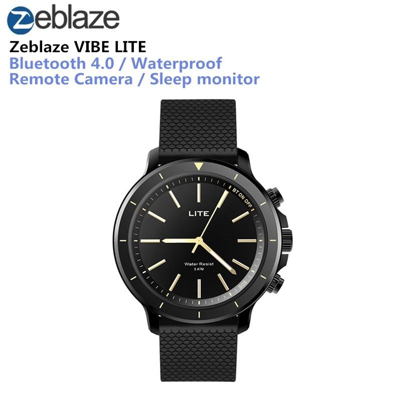 Zeblaze VIBE ലൈറ്റ് സ്പോർട്സ് Smartwatch ബ്ലൂടൂത്ത് ഔട്ട്ഡോർ 5 എടിഎം വെള്ളമൊഴിച്ച് സ്മാർട്ട് സ്പോർട്ട് ഫിറ്റ്നസ് ട്രാക്കറുകൾ കാലാവസ്ഥ പ്രവചനം
