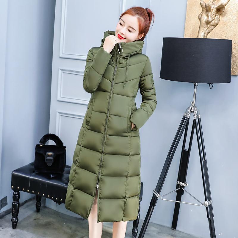 D'hiver army caramel Parka Monteau Down Taille dark C4983 Colour La Plus Green 3xl 4xl Veste Femme Capuchon Coton Femmes À Black Grey Chaud Long Épaissir 1anwqvxz