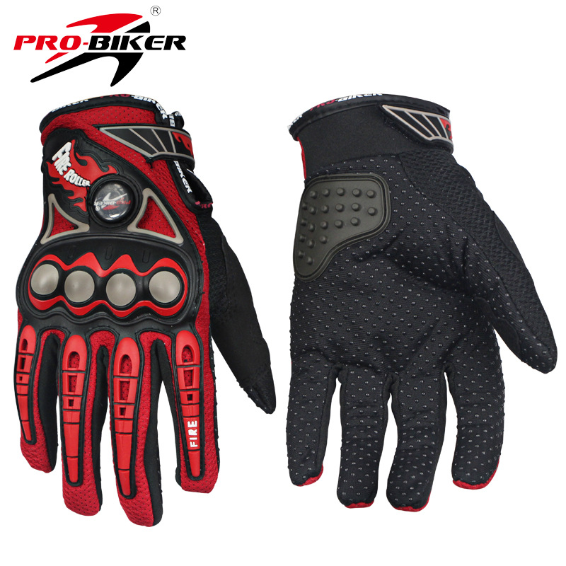 PRO-BIKER Motorcycle Racing Gloves Breathable Enduro Dirt Bike Moto Guantes Luvas Off Ro ...