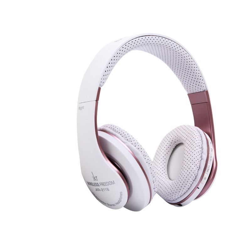 Wireless Stereo Bluetooth 3.0 Headphones Headband  Headset Support TF FM Radio Handsfree with Mic Earphone  2 Colors 1Pcs